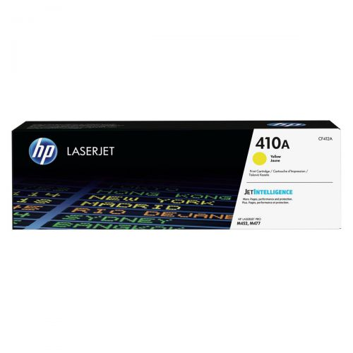 HP 410A Laser Toner Cartridge Page Life 2300pp Yellow Ref CF412A