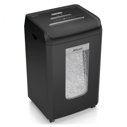 Rexel Promax RSX1538 Office Shredder Cross Cut P-4 4x35mm Grey Ref 2100890A [REDEMPTION]