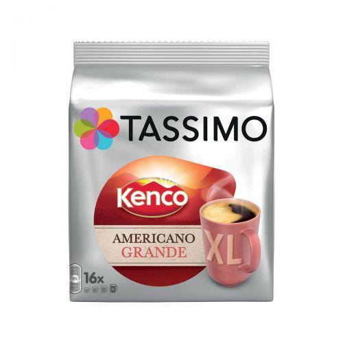 Tassimo Kenco Americano Grande XL Pods 16 Servings Per Pack Ref 4031640 [Pack 5 x 16]