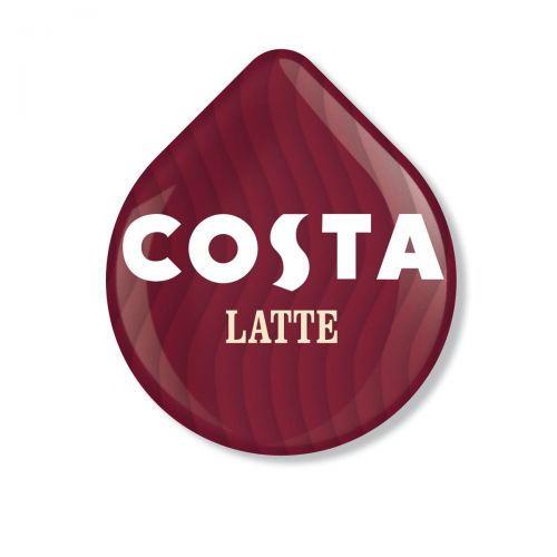 Tassimo Costa Latte Pods 8 Servings Per Pack Ref 4031635 [Pack 5 x 8]