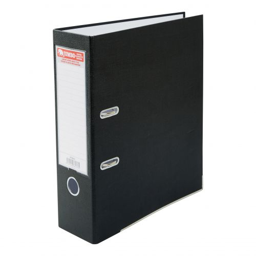JUMBO A4 LEVER ARCH FILE BLACK