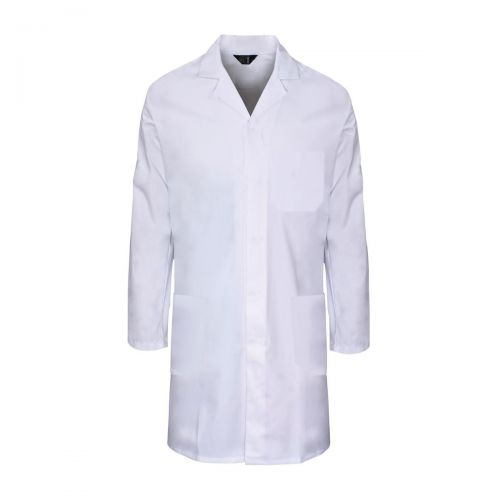 Lab Coat Polycotton with 3 Pockets Large White Ref PCWCW44 Approx 3 Day Leadtime