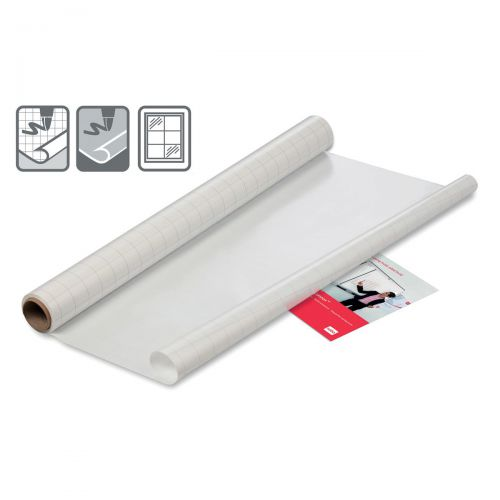 Nobo Instant Film Whiteboard Reusable A1 Gridded Ref 1905157 [Roll 25 Sheets]