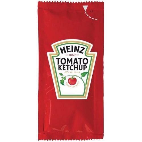 Heinz Tomato Ketchup Sachets Single Portion Ref 76600338 [Pack 200]