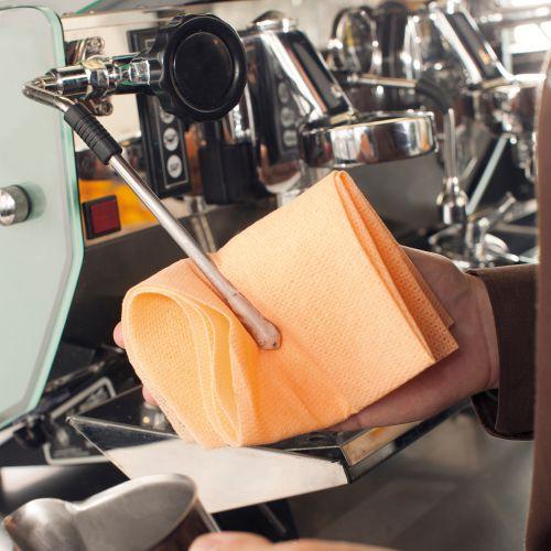 Chicopee Heat resistant Coffee Cloth Orange Ref CHICO [Pack 10]