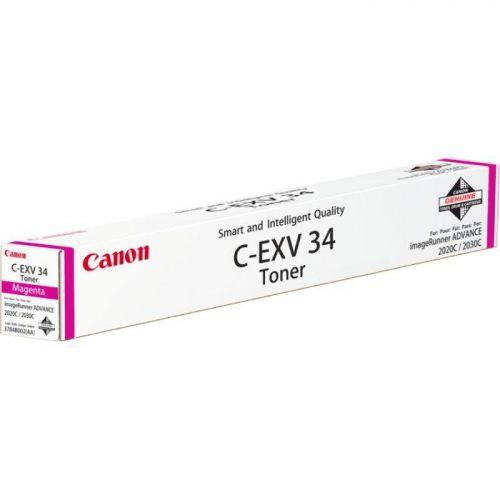 Canon C-EXV34 Toner Cartridge Page Life 19000pp Magenta 3784B002AA