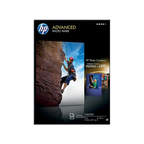 HP Advanced Glossy A4 Photo Paper Q5456A