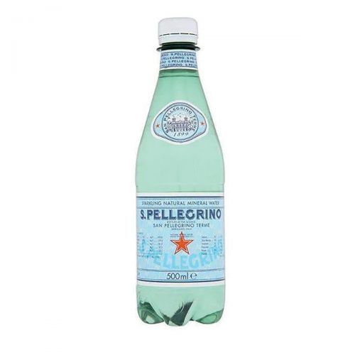 San Pellegrino Sparkling Mineral Water Bottle Plastic 500ml Ref N005509 [Pack 24]
