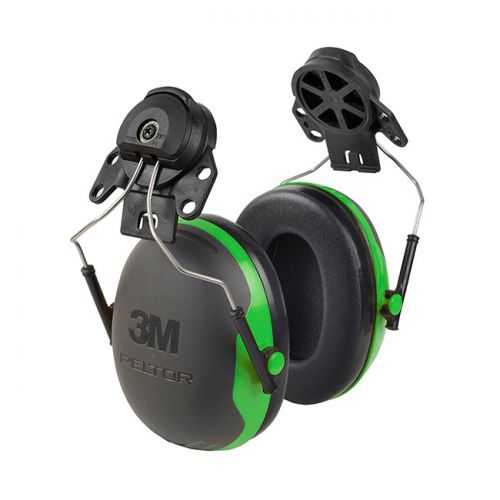 Peltor X1P3 Helmet Mounted Ear Defenders 26dB Green Ref X1P3 *Up to 3 Day Leadtime*