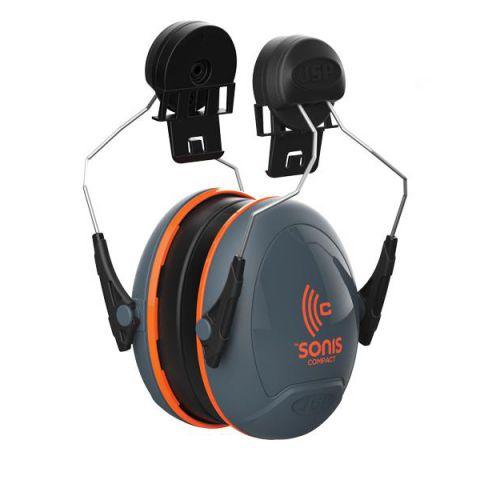 JSP Sonis Compact Ear Defenders Medium Attenuation Helmet-mounted Ref AEB030-0CY-0G1