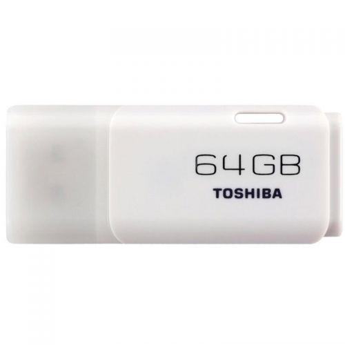 Toshiba TransMemory Flash Drive USB 2.0 64GB White Ref THN-U202W0640E4