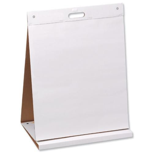 Post-it Table Top Easel Chart Dry Erase Self-adhesive 20 Sheets 584x508mm Ref 563DE