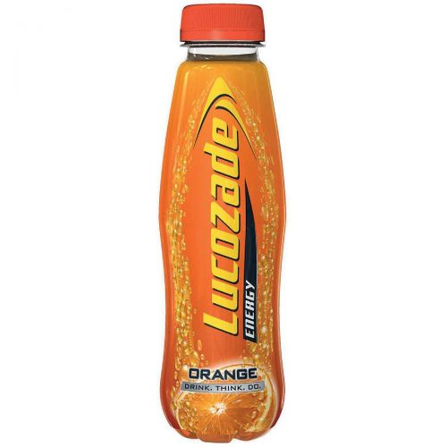 Lucozade Orange Soft Drink Bottle 380ml Ref 40016 [Pack 24]