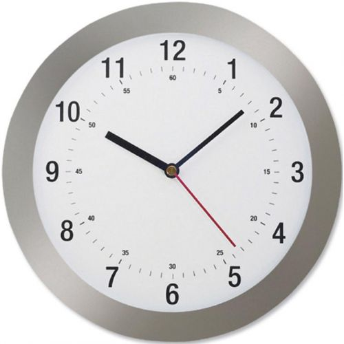 Image for 5 Star Facilities Wall Clock Radio Controlled Diameter 300mm Grey