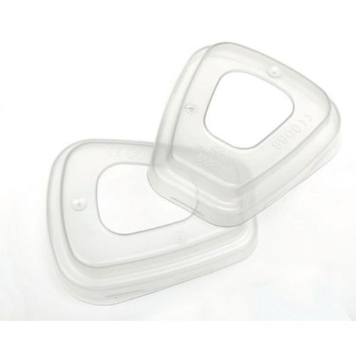 3M Filter Retainer Use With 3M 5000 Series Filters Clear Ref 501 [Pair] *Up to 3 Day Leadtime*