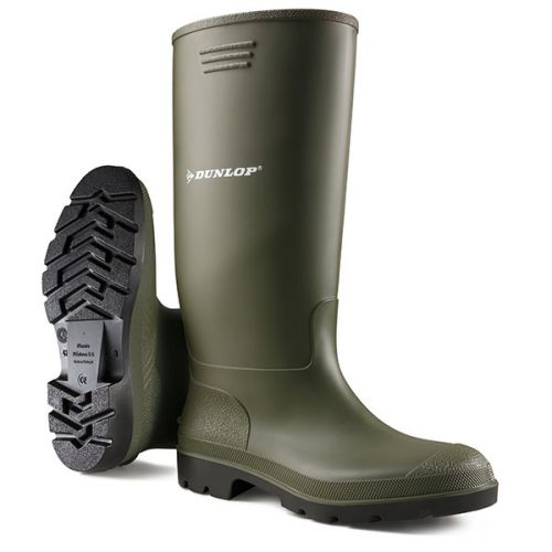 Dunlop Pricemastor Wellington Boot Size 8 Green Ref BBG08 *Up to 3 Day Leadtime*