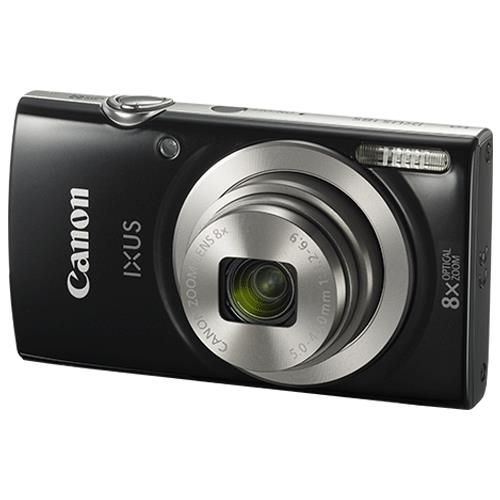 Canon IXUS 185 Camera Kit 20MP 16x Zoom Plus Full HD Movies Case & 32GB SD Card Silver Ref CAN2877