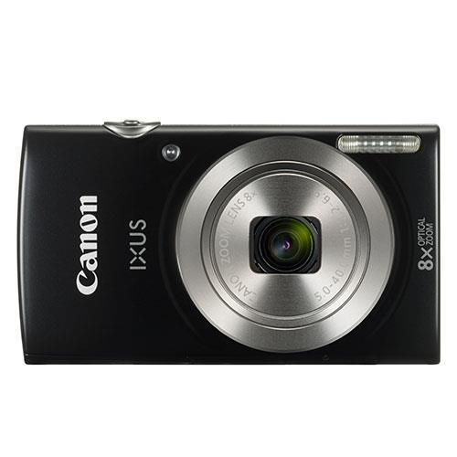 Canon IXUS 185 Camera Kit 20MP 16x ZoomPlus Full HD Movies Case & 8GB SD card Black Ref CAN2768