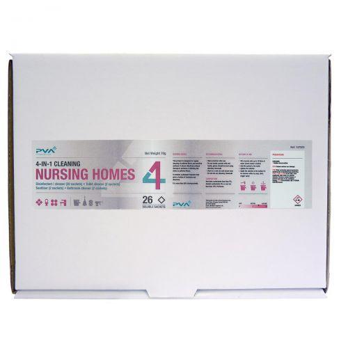 PVA Nursing Homes Cleaning Sachets Mixed Pack PK26 Ref C2