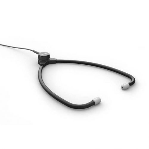 Philips Stethoscope Headphones for Transcription Lightweight Durable 3M Cable Charcoal Ref ACC0232