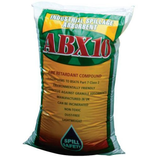Wood Granule Absorbent ABX10                                Bag