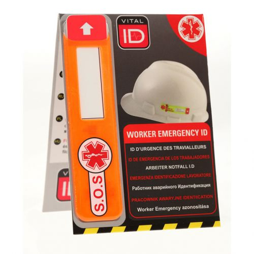 Vitalid Emergency ID Data Window Global Ref WSID02G *Up to 3 Day Leadtime*