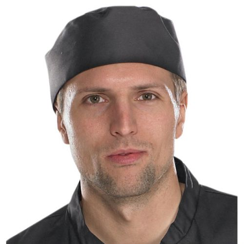 Click Workwear Chefs Skull Cap Black Ref CCCSCBL *Up to 3 Day Leadtime*