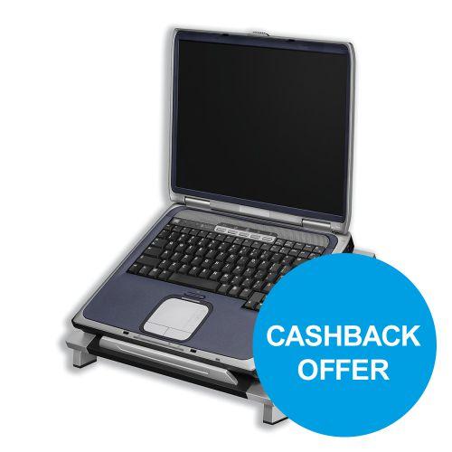 Fellowes Office Suites Laptop Riser Adjustable Tilt for Up to 5kg Ref 8032001 [REDEMPTION] Oct-Dec19