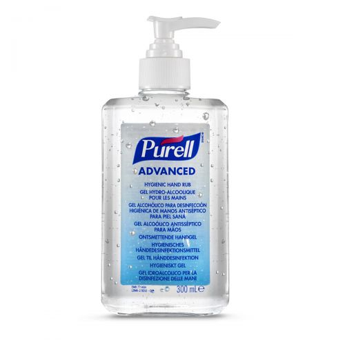 Purell Advanced Hygienic Hand Rub 300ml 9263 12 Eeu00