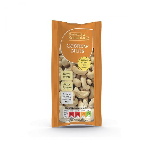 Snacking Essentials Cashews Shots 50g Ref 101650 [Pack 16]