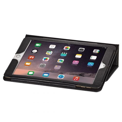Image for Hama Apple iPad Mini 4 Case Stand Function Magnetic Fastener 7.9in Black Ref 00106437