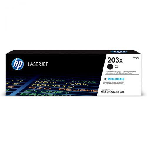 HP 203X ORIGINAL BLACK LASER CARTRIDGE