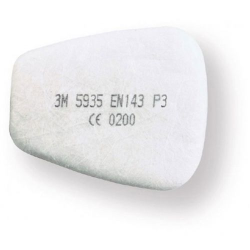 3M P3R Pre-filter Protects Against Solids/Liquid Particles White Ref 5935 [Pair] *Up to 3 Day Leadtime*