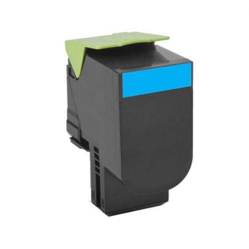 Lexmark 802C Laser Toner Cartridge Return Programme Page Life 1000pp Cyan Ref 80C20C0