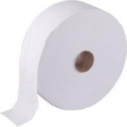 1 ply 12 Rolls x 1000 Sheets Hostess 8613  Jumbo Toilet Tissue Rolls White