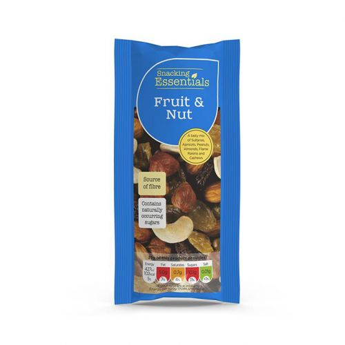 Snacking Essentials Fruit & Nut Shots 50g Ref 808251 [Pack 16]