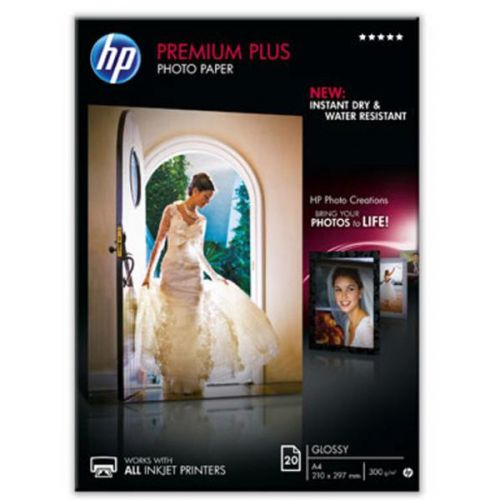HP A4 Glossy Photo Paper 300gsm Pack20