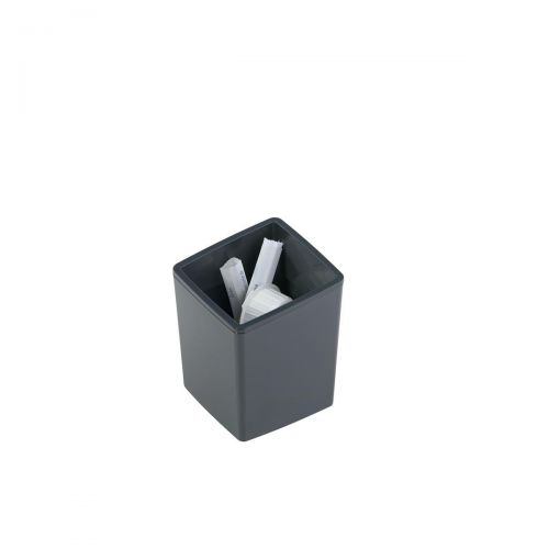 Durable Coffee Point Bin Small Recycling Container Charcoal Ref 338858