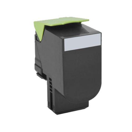 Lexmark 802K Laser Toner Cartridge Return Programme Page Life 1000pp Black Ref 80C20K0