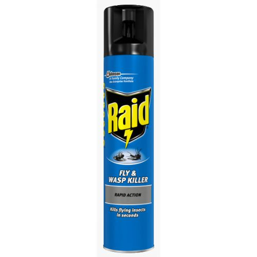 Raid Fly & Wasp Killer Aerosol 300ml Ref 77065