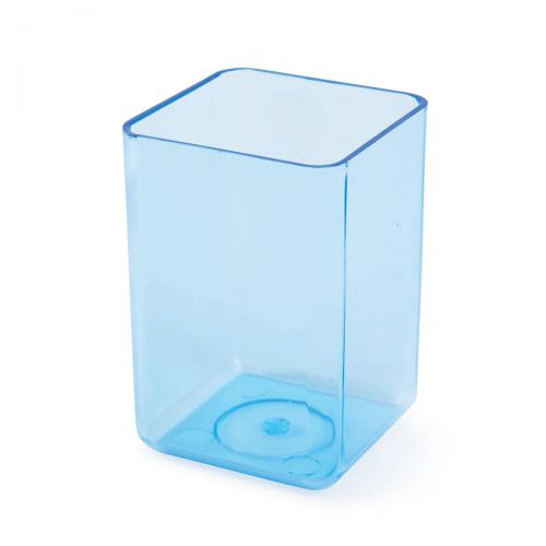 Executive Pen Tidy 1 Compartment Polystyrene Ice Blue