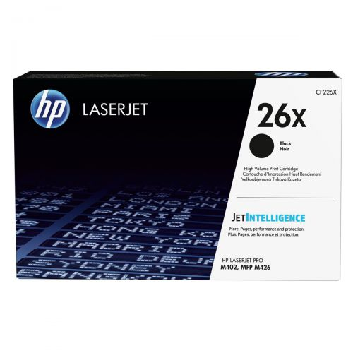 HP 26X Laser Toner Cartridge High Yield Page Life 9000pp Black Ref CF226X