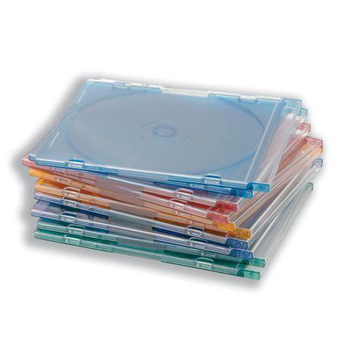 CD Slimline Jewel Case Assorted [Pack 100]