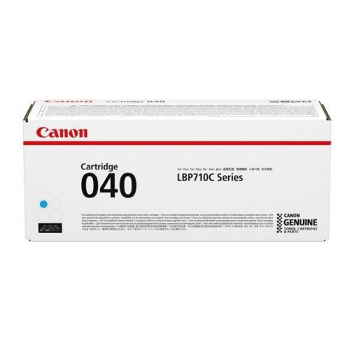Canon 040C Laser Toner Cartridge Page Life 5400pp Cyan Ref 0458C001