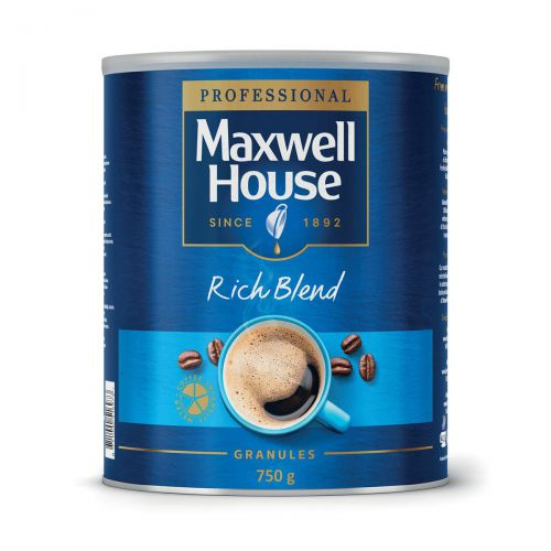 Maxwell House Instant Coffee Granules Rich Blend Tin 750g Ref 4032034