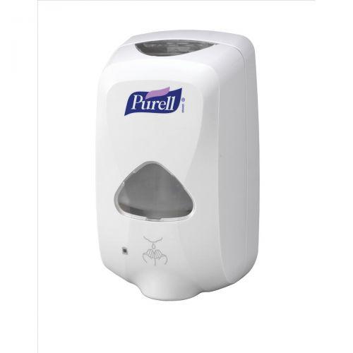 Purell TFX-12 Hand Sanitiser Dispenser Touch Free W155xD100xH270mm White Ref X00956