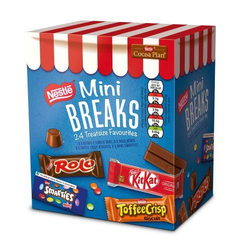 Nestle Mini Breaks Mixed Assorted Ref 12369978 [Pack 24]