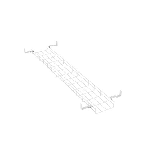 Trexus Cable Basket 1600mm Width White Ref BE037