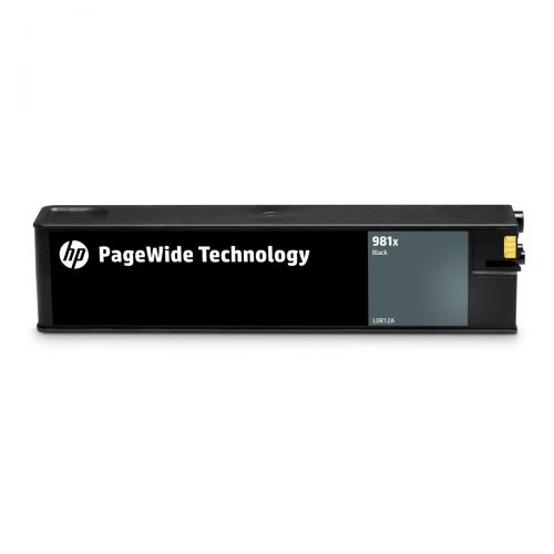 Hewlett Packard [HP] No.981X InkjetCartPageWide HYPage Life10000pp Black Ref L0R12A 3to5 Day Leadtime