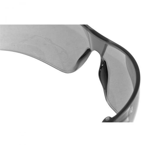 JSP Stealth Safety Spectacles Ultra Thin Lenses 16g EN166 1.F Smoke Ref ASA920-163-000